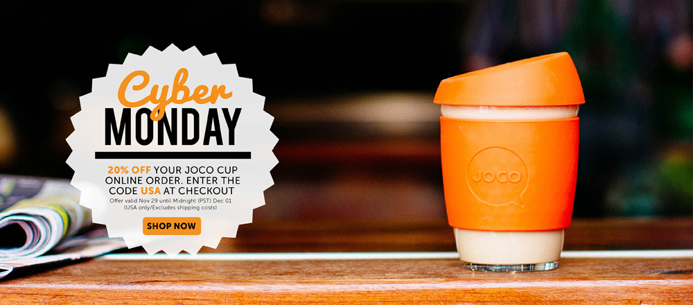 Cyber Monday JOCO cups coupon offer 2014