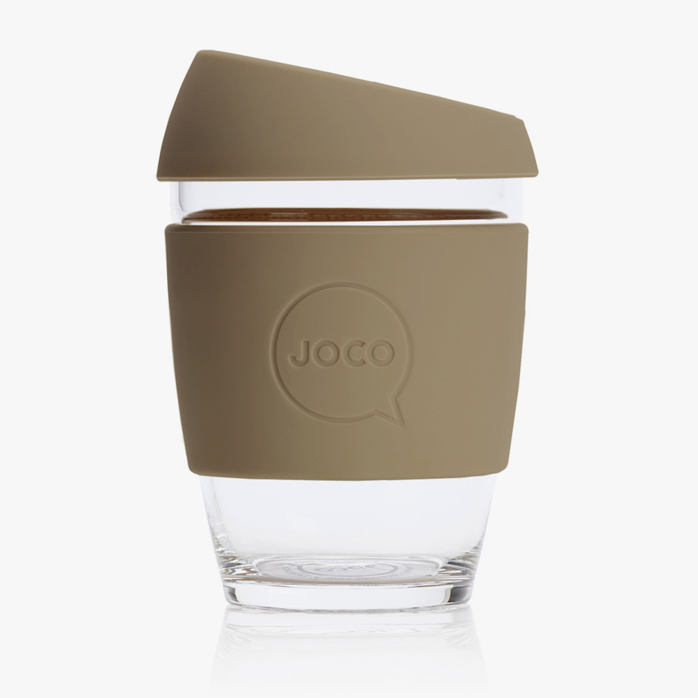 Insulated Glass Coffee Cup From JOCO