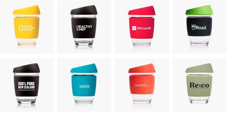 8 Co-Branded Coffee Cups From JOCO