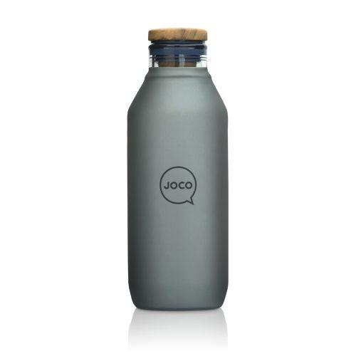 20oz 600ml Grey JOCO BPA-Free Glass Water Bottle