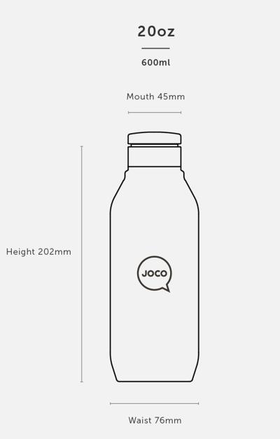 20oz Flask - Velvet Grip