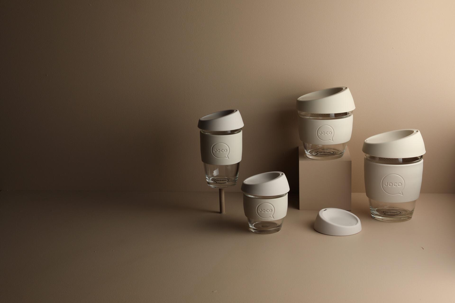 Range of Australian Made JOCO Coffee Cups