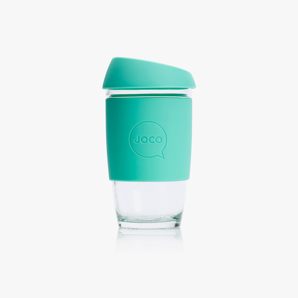 Green JOCO Reusable Takeaway Coffee Cup
