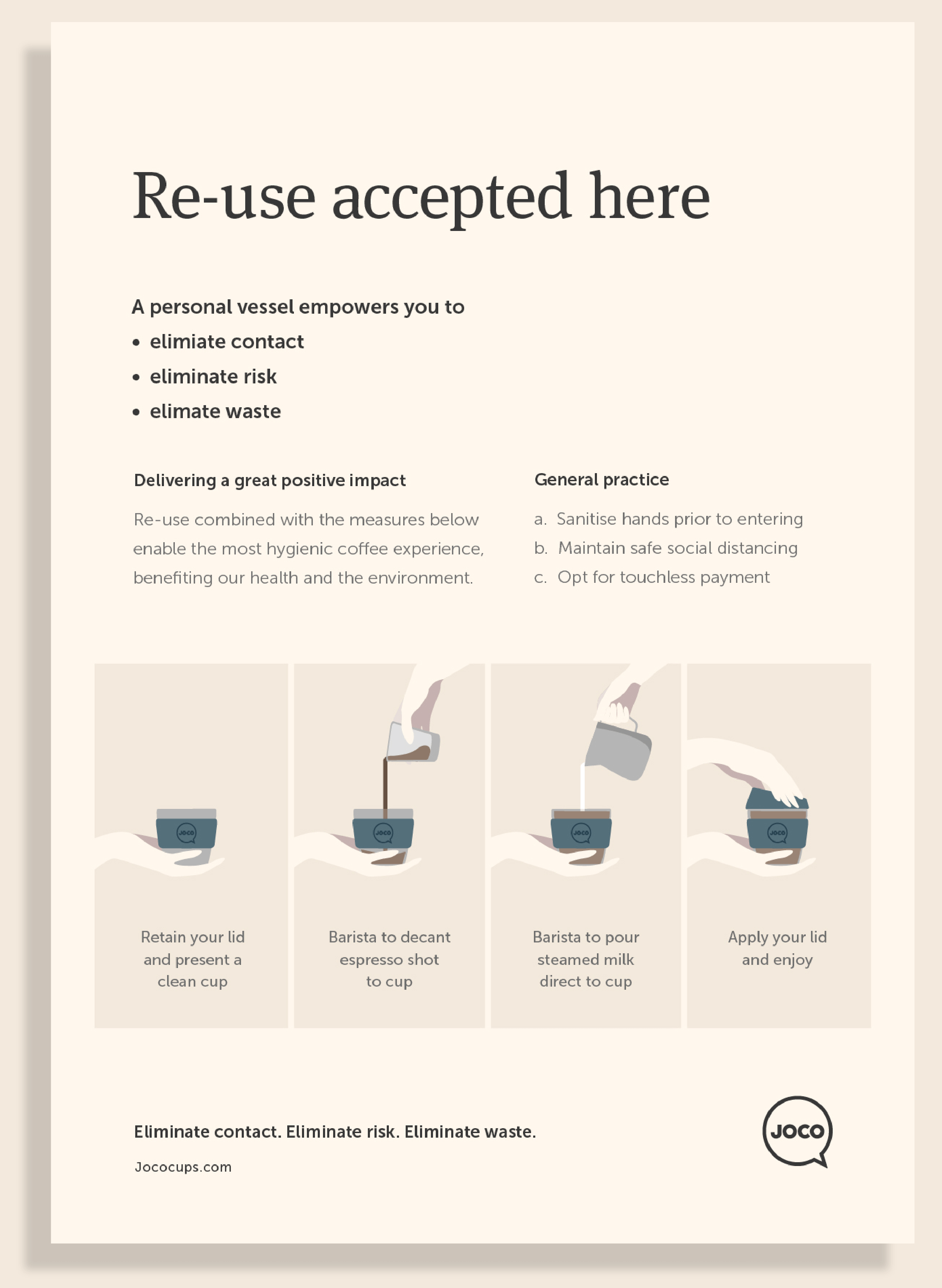 Re-use accepted here